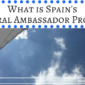 What is Spain's Cultural Ambassador Program?