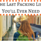 The Last Packing List You'll Ever Need